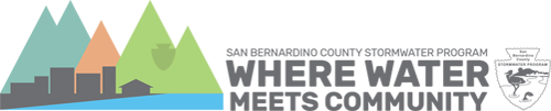 San Bernardino County Stormwater Program Logo