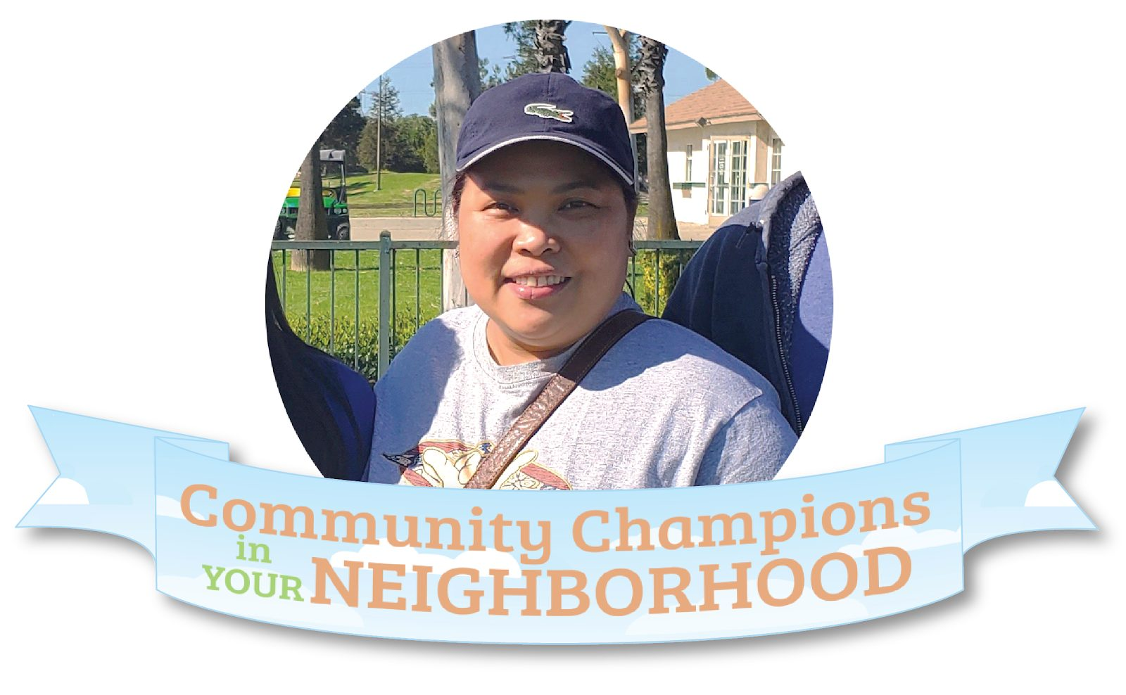Picture of February 2020 Community Champion, Amy Lahip